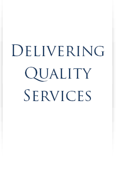 Delivering Quality Services