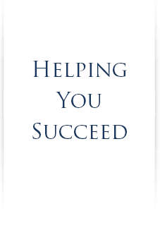 Helping You Succeed